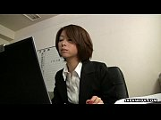 Asian office lady Tsubaki face sitting the sissy dude