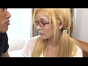blond teen creampie - yellow on.