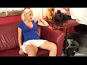 gorgeous blonde amateur fucks cock during.