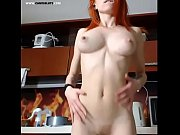 Best Redhead Teen Body Ever! Perfect Ass, Tits, Big Nipples - www.cam18sluts.com