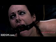 gagged chick acquires lusty torturing