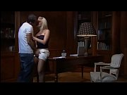 Sweet young blondie has sex in a studio