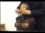 very cute andrea neal is bound, gagged and.