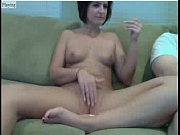 woman having fun on cam