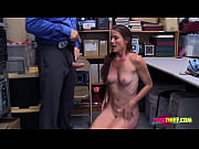 Sofie is contrived by horny officer into taking his big fat cock