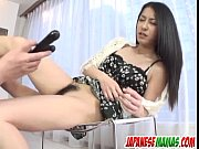 brunette,kyoka ishiguro, endures dick in her.