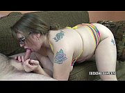 Chubby blonde Alexsis Sweet is going down on a stiff cock