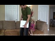 naughty blonde mom takes a hard.