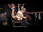 sexual slave nesty rough suspended in bdsm is.