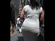 Candid Black Woman Tight Dress Street Creepshot