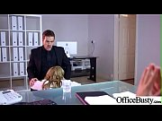 Superb Girl (Stacey Saran) With Round Big Boobs Banged In Office vid-29