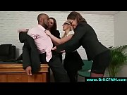british office femdom ladies strip black.