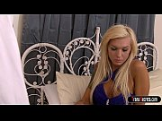 busty blonde shemale aubrey kate and her guy.