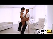 OLD4K. Finally she&#039_s got her boss dick