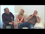 Perverted juvenile gal enjoys old boner