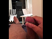 huge cumshot from a frequent masturbator