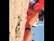 Espanola en la playa