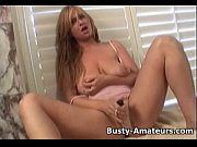 busty amateur violet masturbating her pussy.