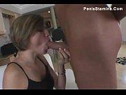 amateur brunette gets a tongue full.