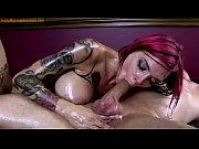 anna bell peaks gives erotic oil body massage.