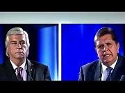 Popy Olivera le dice sus verrdades a Alan Garc&iacute_a en el Debate Presidencial 2016