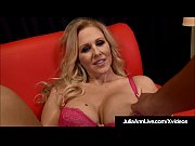 Big Boobed Blonde Milf Julia Ann Strokes &_ Blows Your Dick!
