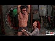 10 Kicks to Lick Ariel Kay&#039_s Pussy w Lance Hart BALLBUSTING FEMDOM