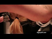 exciting blond foxy adicted to fetish