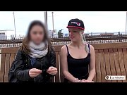 LAS FOLLADORAS - Spanish pornstar babe Liz Rainbow fucks random guy in threesome Thumbnail