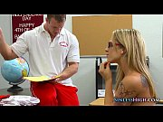 Schoolgirl gets undressed