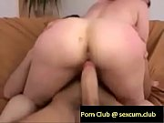 Redhead teases a neighboor then delivers an mind blowing blowjob then rides his dick and takes it fr