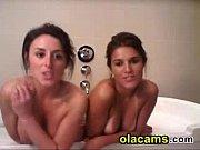 Sexy busty teen lesbians on webcam