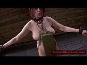 Velma DeArmond gets throat slammed