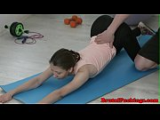 petite 18yo hardfucked after yoga