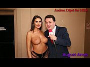 August Ames gives a blowjob lesson for Andrea Dipr&egrave_