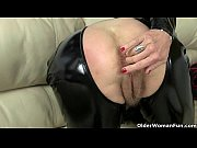 uk milf christina x finger fucks in pvc.