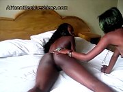 naughty black lesbian amanda tongues hot african gf.