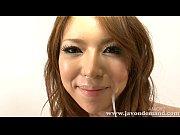 Babe Rino Asuka sucking cock and taking facial