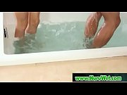 Hot asian masseuse in nuru oil massage 22