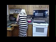 Plus size girl wanting on kitchen - burstpussy.com