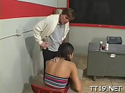 cute honey seduces teacher and fucks.