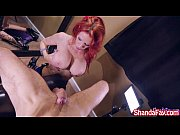 Shanda Fay Sucks Cock for Facial on her Knees!