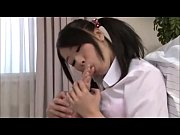 asian is licking her own painted toes vol 01
