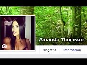 Amanda Thomson touch herself for me in facebook