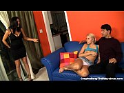husband and wife seduce babysitter into.
