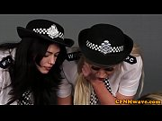 brit femdom cops jerking and cocksucking.