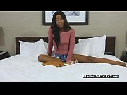 shy black teen dicked on casting