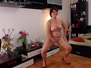 hot milf strips on webcam -.