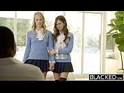 blacked two teen girls share a.