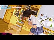 VR Kanojo Fondling with uncensored scene